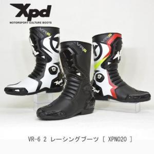 XPD XPN020 VR-6 2  ブラック/ホワイト/レッド|jubet-store