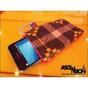 ASCENSION(アセンション)スマートフォンケースSMART PHONE CASE-Brown-】as-174|juice16