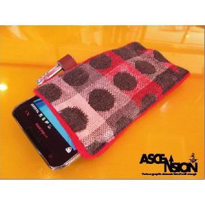 ASCENSION(アセンション)スマートフォンケースSMART PHONE CASE-Ladybug Red-】as-178|juice16