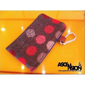 ASCENSION(アセンション)スマートフォンケースSMART PHONE CASE-Ladybug Brown-】as-179|juice16
