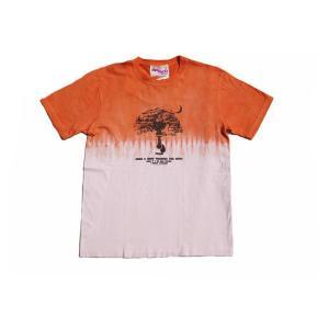 タイダイ半袖Tシャツ Orange 「Grow A Hand」 ASCENSION(アセンション)  as-228|juice16