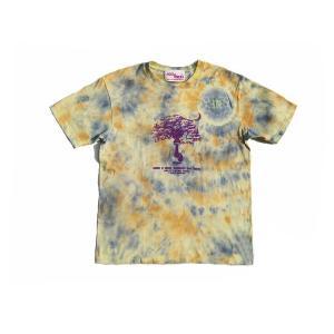 半袖Tシャツ Mandara 曼荼羅 ASCENSION(アセンション) ムラ染め Tシャツ  as-235|juice16