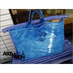 ASCENSION(アセンション)INDIGO(藍染め)キャンバストートバック  as-332|juice16