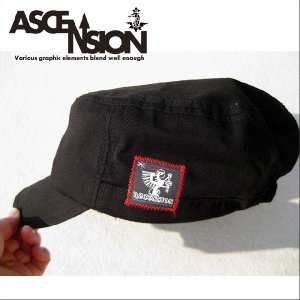 ASCENSION(アセンション)WORK CAP 【STITCH PATCH】as-384|juice16