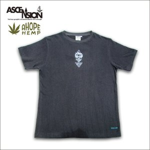 A HOPE HEMP × ASCENSION HEMP TEE【 Lotus 】 as-499|juice16