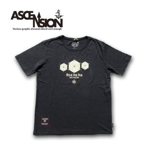 ASCENSION(アセンション)HEMP BASIC TEE (GO HEMP ボディー仕様)「ASA NO HA」 as-607|juice16