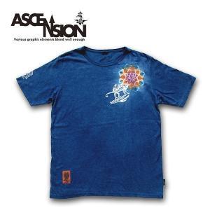 Tシャツ ASCENSION(アセンション)HEMP TEE (GO HEMP ボディー仕様)「カメレオン」as-609|juice16