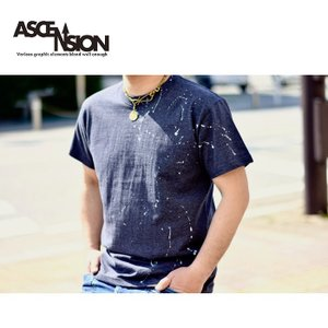 ASCENSION(アセンション) ペイントTシャツ    as-710|juice16