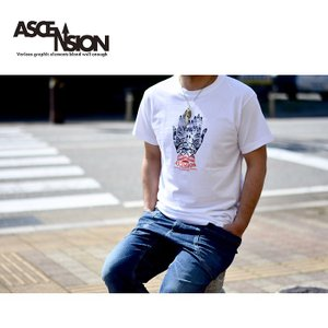ASCENSION(アセンション) HAND GRAPHIC Tシャツ   as-712|juice16