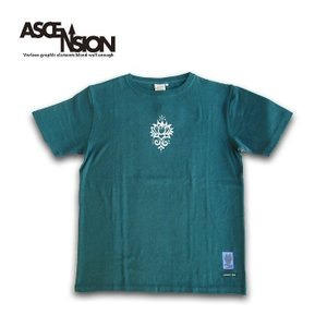 Tシャツ A HOPE HEMP × ASCENSION HEMP TEE (rotus / asanoha)as-717|juice16