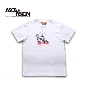 Tシャツ  ASCENSION(アセンション)  NESSY GRAPHIC Tシャツ  as-721|juice16