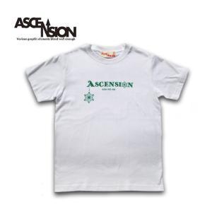 Tシャツ  ASCENSION(アセンション)  ASANOHA ROGO TEE Tシャツ  as-722|juice16