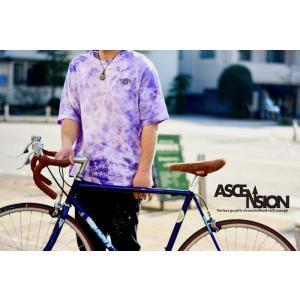 ASCENSION(アセンション) TIEDYE WIDE PK TEE タイダイ TEEシャツ as-770|juice16