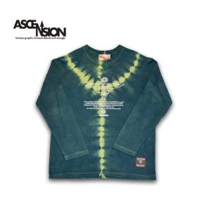 曼荼羅 藍染め Tシャツ ASCENSION(アセンション)インディゴTシャツ 藍染めTシャツ as-778|juice16