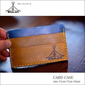BLUE.art(ブルードットアート)Card case カードケースサドルレザー[Saddle leather] ba-006|juice16