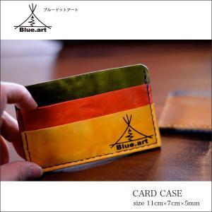 BLUE.art(ブルードットアート)Card case カードケースウオッシュレザー[Wash leather] ba-007|juice16