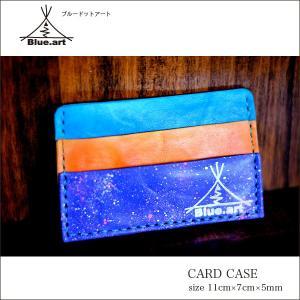 BLUE.art(ブルードットアート)Card case カードケースサドルレザー[Saddle leather] ba-008|juice16