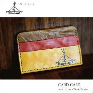 BLUE.art(ブルードットアート)Card case カードケースサドルレザー[Saddle leather] ba-010|juice16
