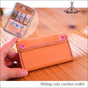 BLUE.art(ブルードットアート)Sliding coin catcher wallet ba-024|juice16