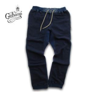 GO HEMP(ゴーヘンプ)SLIM RIB PANTS/ H/C KNIT LIKE DENIM  gh-025|juice16