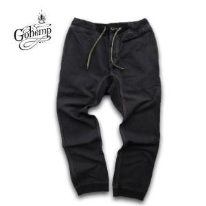 GO HEMP(ゴーヘンプ)SLIM RIB PANTS/ H/C JAZZ LEFT GABARDINE  gh-026|juice16