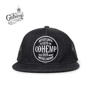 GO HEMP(ゴーヘンプ)LOGO MESH CAP  gh-042|juice16