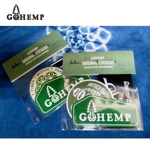 GO HEMP(ゴーヘンプ)ORIGINAL STICKERS (ステッカー)  gh-050|juice16