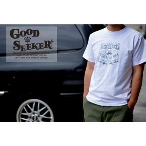 GOOD SEEKER(グッドシーカー)Tシャツ【MUSTASH WAX】  gs-008 juice16