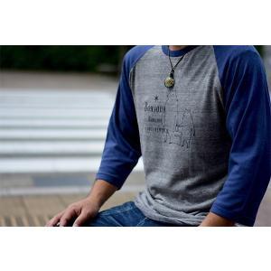 GOOD SEEKER(グッドシーカー)七分Tシャツ【B.Bear】  gs-016 juice16
