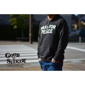 GOOD SEEKER(グッドシーカー)Pullover Parka (ヴィンテージプルオーバーパーカ)【PRAY FOR PEACE】gs-019 juice16