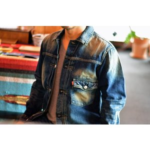 GO WEST(ゴーウェスト)『 POST WORK JACKET / USED WASH 』gw-002|juice16