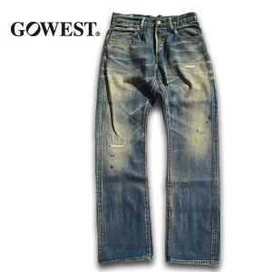GO WEST(ゴーウェスト)POST WORK PANTS/CLASH&PATCHED WORK gw-010|juice16