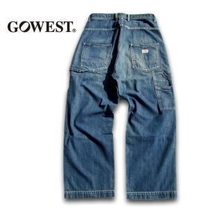 GO WEST(ゴーウェスト)UNIQUE DIY PANTS/8oz WORK DENIM/USED WASH  gw-012|juice16
