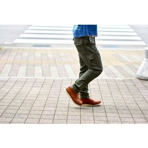 GO WEST(ゴーウェスト)BIKER LOOSE PANTS/SATIN STRETCH PREMIUM PEACH  gw-014|juice16