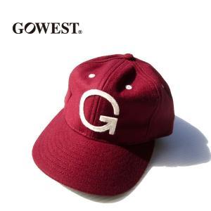 GOWEST×EBBETS FIELD FLANNELS/6PANEL BASEBALL CAP  gw-021|juice16