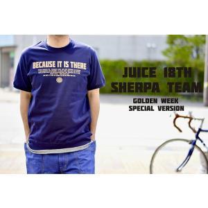 JUICE 18TH SHERPA TEAM Tシャツ 「ゴールデンウィーク限定発売」スーパーヘビーオンス サイドパネルリブTシャツ  ju-067|juice16
