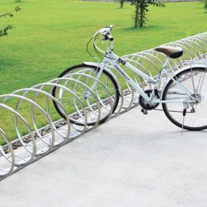 連結可能な駐輪スタンド「自転車スタンド サイクルレスター D-NA CYタイプ」【1ユニット2台】 juicygarden