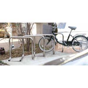 連結可能な駐輪スタンド「自転車スタンド サイクルレスター D-NA SYタイプ」【1ユニット1台】 juicygarden