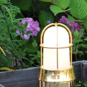 外灯 門灯 真鍮ライト マリンランプ カラー5色 BH1000 くもりガラス LED仕様 juicygarden