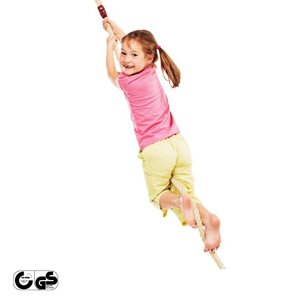 [送料込] DIY 屋外 家庭用遊具 「はらっぱギャング クライミングロープ ※フレーム無し、吊り金...