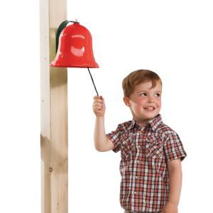 [送料込] DIY 屋外 家庭用遊具 おもちゃの鐘 合図 「はらっぱギャング ベル」自作