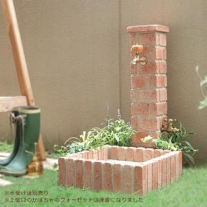 立水栓 水栓柱 ガーデニング ネオキャスティスタンド 蛇口2個付き|juicygarden