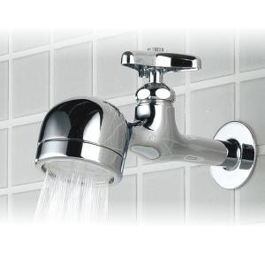 蛇口 水栓 キッチン シャワー 横水栓 カラン 蛇口 ユニーク 「トラップ蛇口シリーズ 怒りん坊」|juicygarden