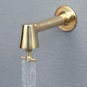 衛生水栓 蛇口 水栓 キッチン トイレ レトロ 横水栓 カラン「衛生水栓 レトロ色:銅色」|juicygarden