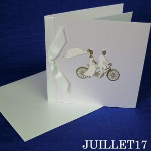 HAPPY WEDDING! スワロフスキー メッセージカード 結婚祝い|juillet17