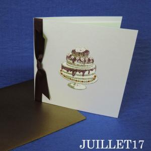 HAPPY BIRTHDAY! スワロフスキー メッセージカード 誕生日祝い|juillet17