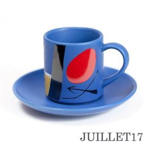 Joan Miro ジョアン・ミロ エスプレッソカップ デミタスカップ ソーサーセット|juillet17