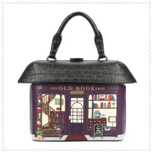 ベンデューラ バッグ ハンドバッグ ショルダーバッグ レディース ブランド 2way ブックショップ Vendula London Book Shop Grab Bag ベンデューラロンドン|juillet17