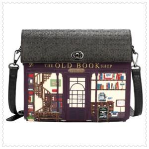 ベンデューラ バッグ ロンドン ショルダーバッグ ブランド レディース 斜め掛け ブックショップ Vendula Book Shop Box Bag ベンデューラロンドン|juillet17