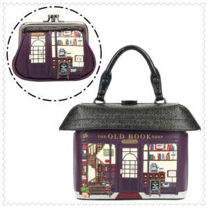選べるセット ベンデューラ バッグ コインパース ハンドバッグ ショルダーバッグ レディース ブランド 2way ブックショップ Vendula London Book Shop juillet17